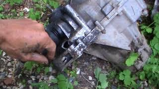 Хрустели шрусы (гранаты) сломалась коробка передач