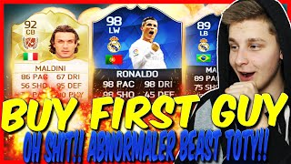FIFA 16: BUY FIRST GUY CHALLENGE (DEUTSCH) - FIFA 16 ULTIMATE TEAM - OH SHIT!! ABNORMALER BEAST TOTY