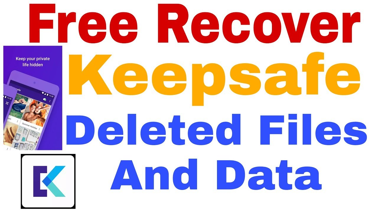 #Keepsafe Deleted Photo Recovery |Keepsafe Pro Free Vision Download | How  to #Recover Deleted Photos