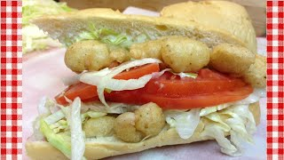 Fried Shrimp Po Boy Sandwich Recipe  Noreens Kitchen