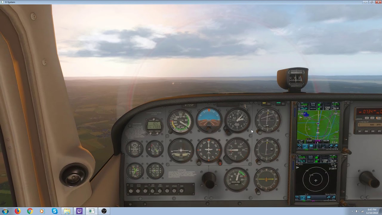 ILS Approach using the RealityXP GTN 750 in X Plane 11
