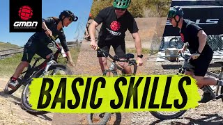 5 Basic Skills With Leigh Donovan | MTB Skills
