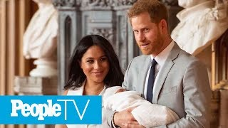 Prince Harry Opens Up About 'Missing' Mom Princess Diana After Birth Of Baby Archie | PeopleTV