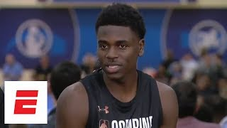 Aaron Holiday breaks down how he studies film, what he wants to improve on during the combine | ESPN