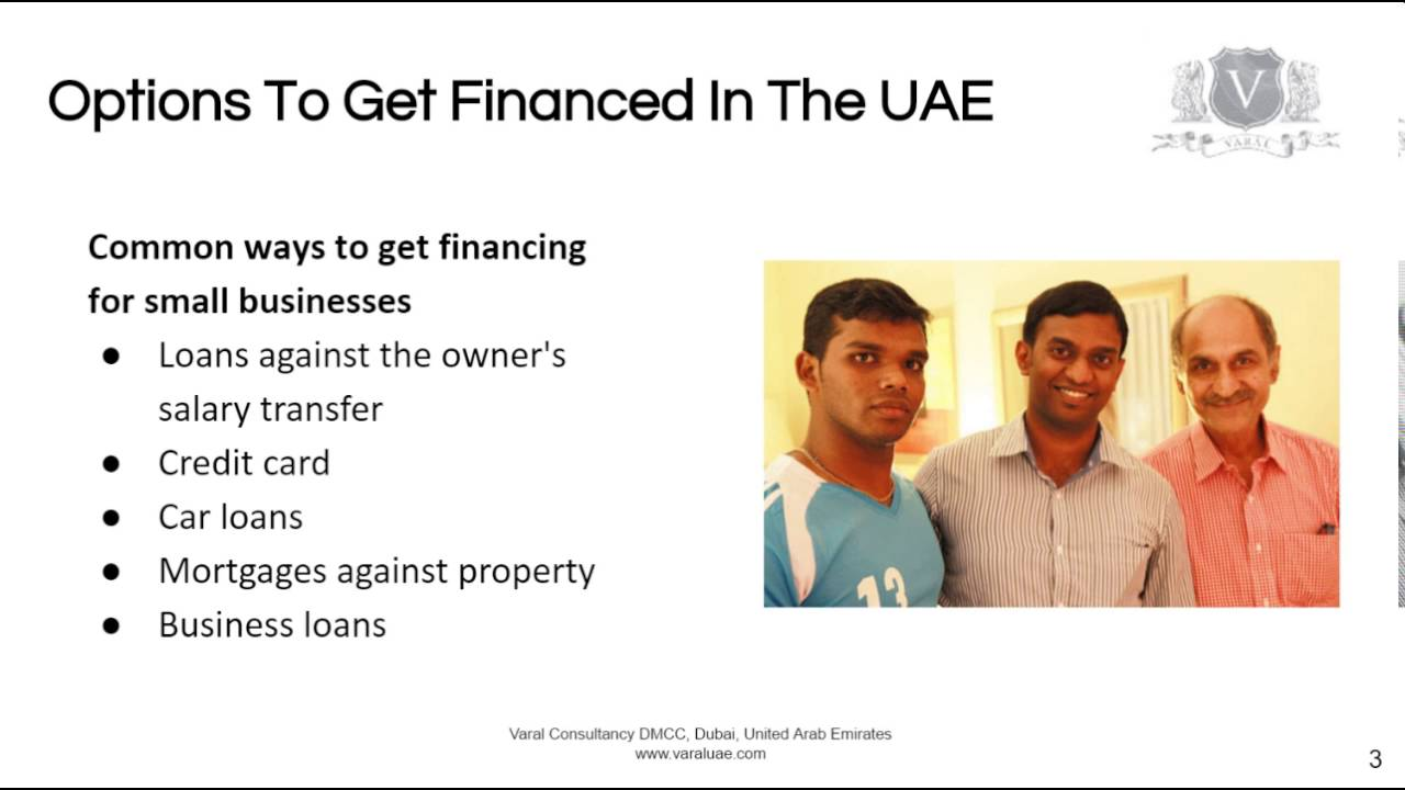 Business Funding Dubai | Personal Loans Easier Than New Company ...