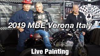 Motorcycle Art part 81 / 2019  MBE Verona Italy