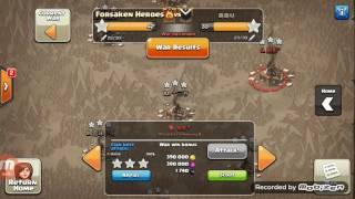 Clash of Clans- Forsaken Heroes War Highlights #5 (vs Asian Clan)