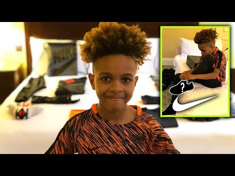 NIKE SURPRISED ME IN HOTEL with New UNRELEASED SNEAKERS!!