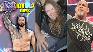 Roman Reigns Title Reign Days Revealed !? Ronda is PREGNANT, Goldberg Jealous, Fake WWE Attendance