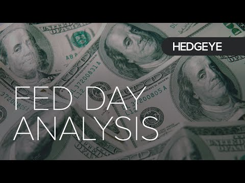 Hedgeye's Fed Day Analysis