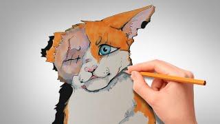 Как нарисовать Яролику | Коты Воители