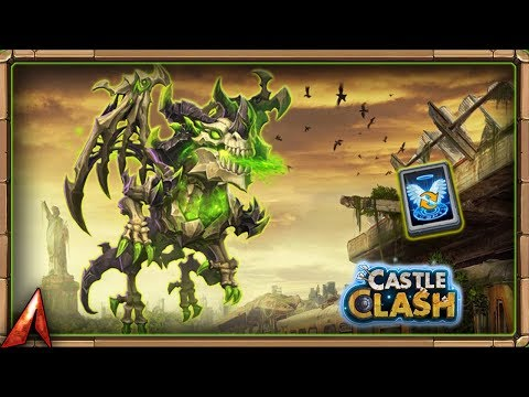 Claiming Skeletica FINALLY! Catching Up! Castle Clash