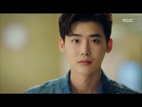 [W] ep.09 Lee Jong-suk didn't recognize Han Hyo-joo 20160818