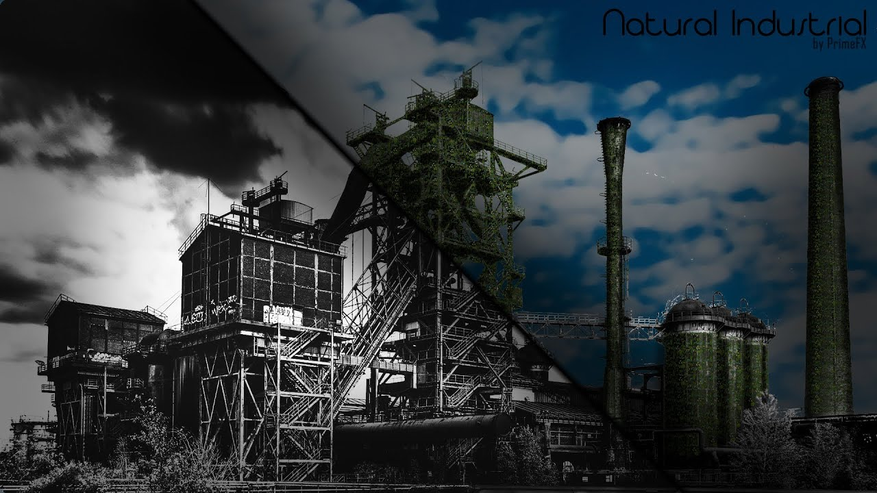Natural Industrial Wallpaper [1080p] [+Download