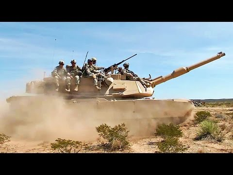 US Army in Intense Training Exercise - Combined Arms Live-Fire Exercise (CALFEX)