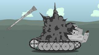 Битва Советского Иса против Немецкого Тигра - Мультики про танки