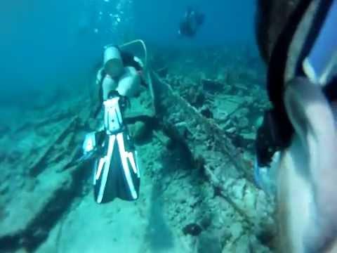 Scuba Diving the City of Washington in Key Largo, Florida Keys