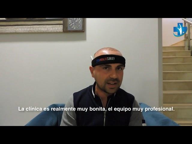 Trasplante Capilar Turquía - Testimonial Señor Raffaele L. - Dra. Oyku Çelen/Skin Health Turkey