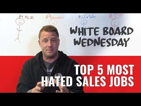 Top 5 Most Hated Sales Jobs