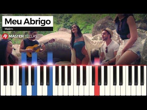 💎 Meu Abrigo - Melim  Piano Tutorial 💎