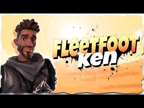 *GOTTA GO FAST* Fleetfoot Ken Hero Overview   Fortnite Save The World