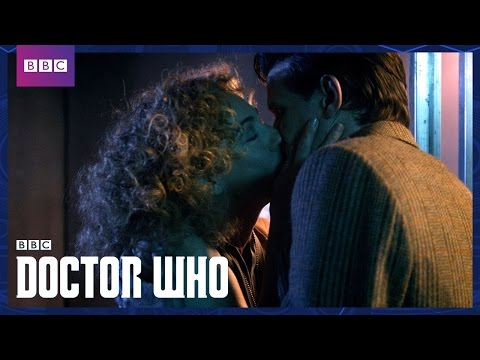 River Songs Kiss  Day of the Moon  Doctor Who