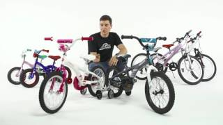 performance 16 kids bikes by performance bicycle