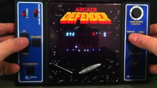 Entex Arcade Defender Gameplay