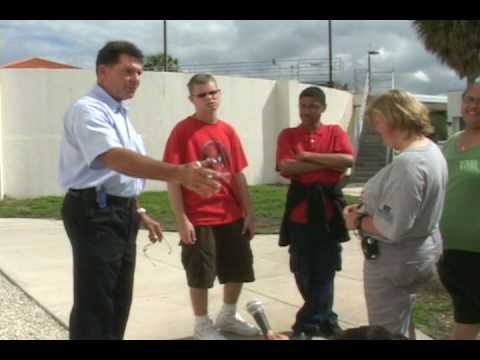 Whispering Pines School students visit Miramar Water Plant