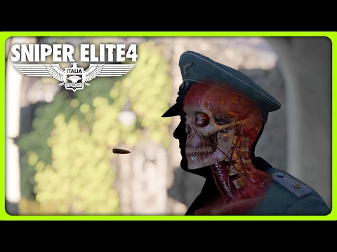 SNIPER ELITE 4   INCREDIBLE LONG SNIPER SHOT (Sniper Elite 4 Funny Moments)