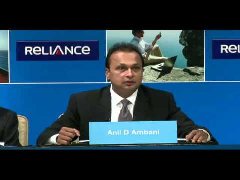 Opening Speech by Chairman Mr. Anil Ambani - Reliance Group Companies' Annual General Meeting 2015
