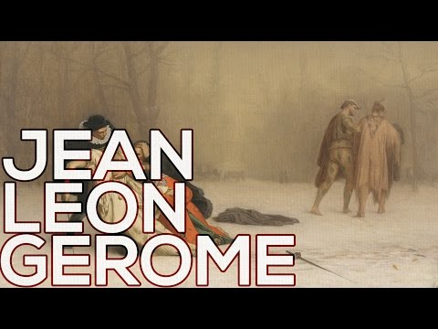 Jean Leon Gerome: A Collection Of 231 Paintings (HD)