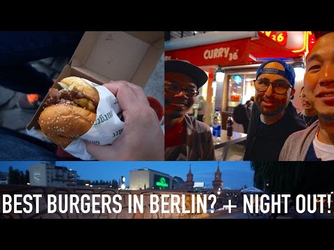 IFA 2015 VLOG #3: Best Burger In Berlin? + Late Night Out with Friends!