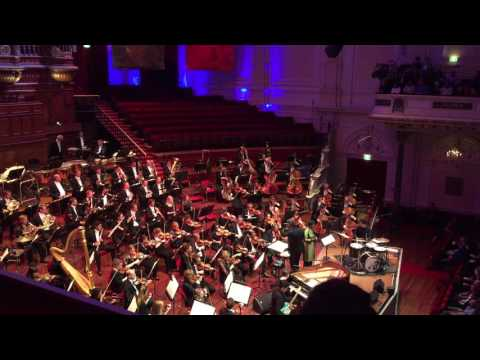Son Lux & Concertgebouw orchestra - Easy live @Holland Festival Amsterdam 16-06-2016