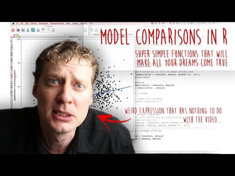 Model Comparisons In R