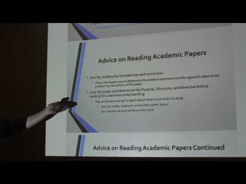 How To Read an Academic/Scientific Paper