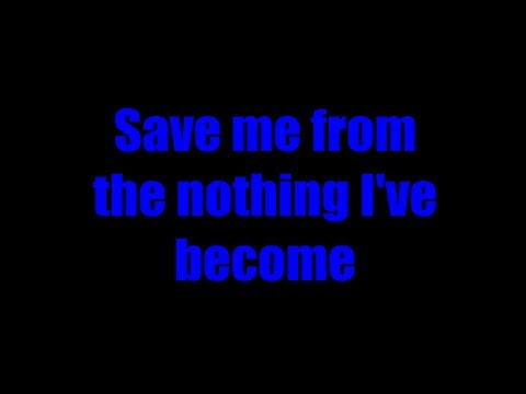 Evanescence - Bring Me to Life lyrics