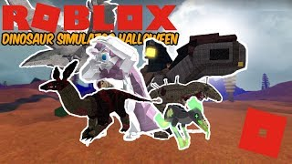 Roblox Dinosaur Simulator Halloween - PART 2 IS OUT! (How much did it cost?)