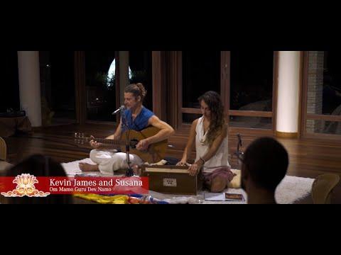 Ong Namo Guru Dev Namo Kevin James Carroll and Susana. Kamalaya Koh Samui
