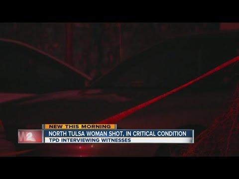 Woman shot in North Tulsa home