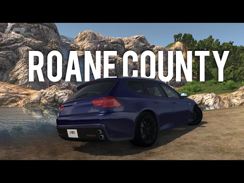 TENNESEE ROANE COUNTY - BEAMNG.DRIVE MODS