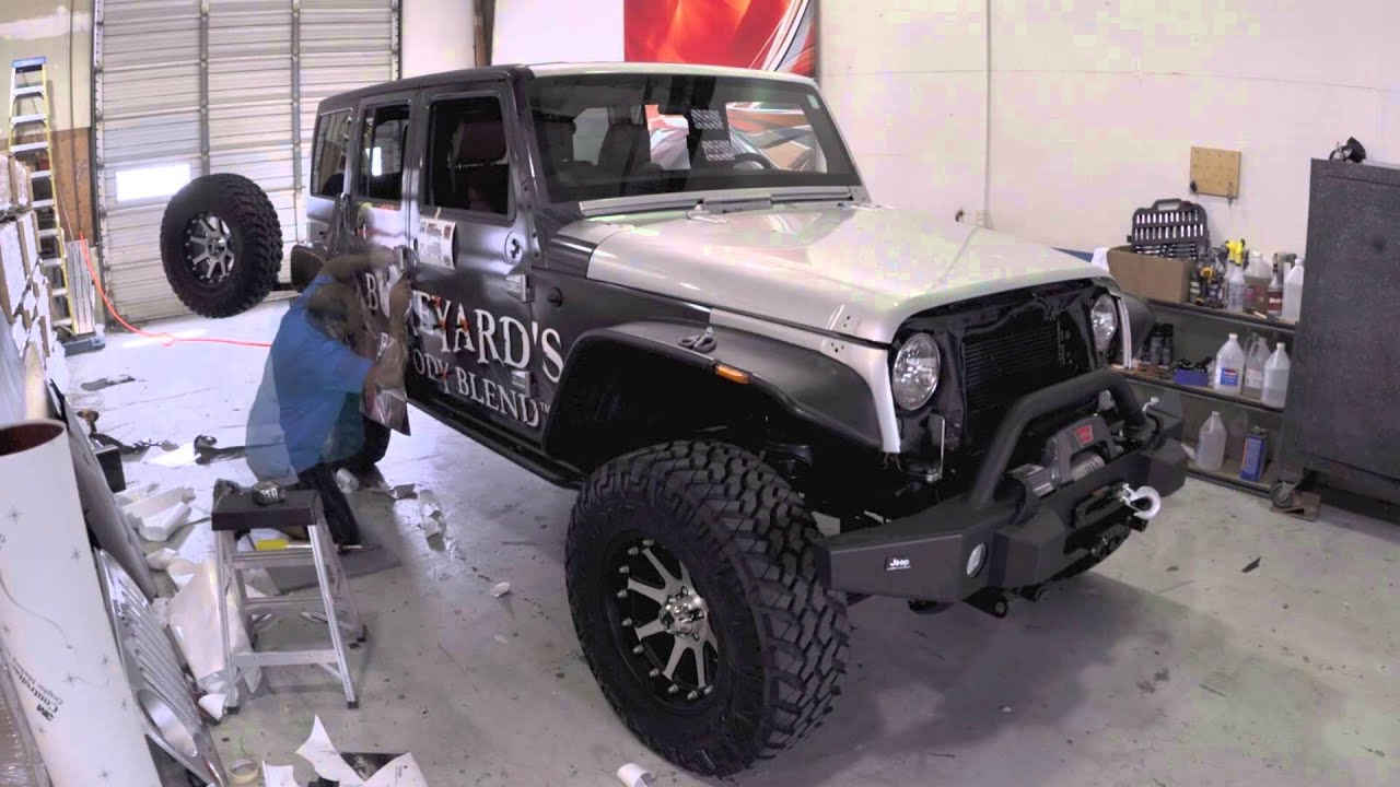 Jeep Wrap Installation Youtube