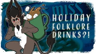 Christmas Folklore Drink Brands?!