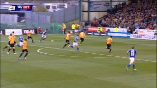 Oldham Athletic vs Bradford City - League One 2013/14 Highlights