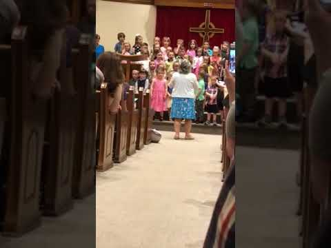 Harborcreek Presbyterian preschool graduation 2018