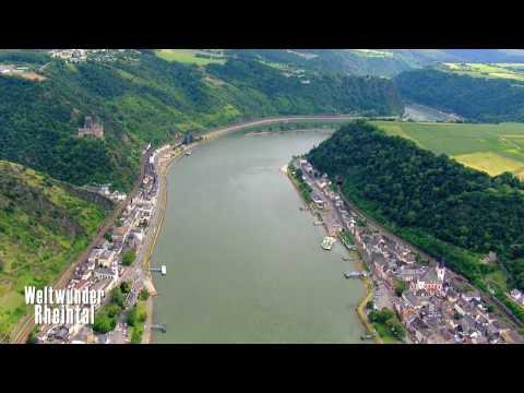 HD - Loreley - Lorelei - von/from DVD/Blu-ray: Weltwunder Rheintal, The Rhine Valley