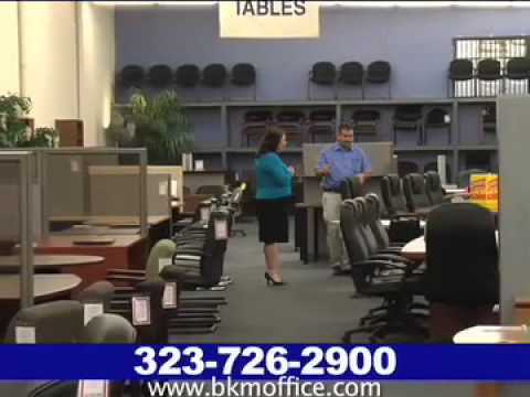 bkm office furniture, commerce, ca - youtube