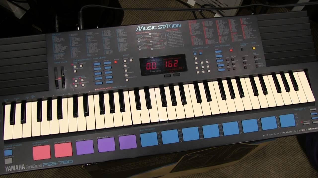 Yamaha Pss Demo