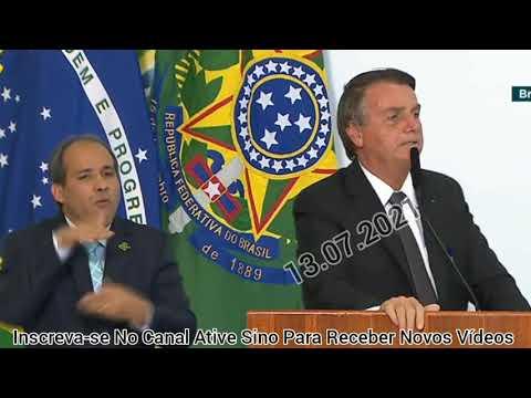 Bolsonaro Anuncia Redução De Impostos No Combustíveis Em PRIVATIZAÇÃO DA ELETROBRAS