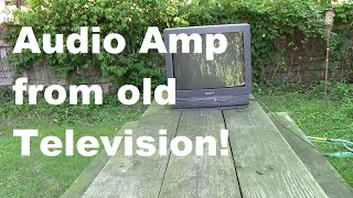 Video Audio Amplifier COMPLETELY from an Old Television! download MP3, 3GP, MP4, WEBM, AVI, FLV Juni 2018